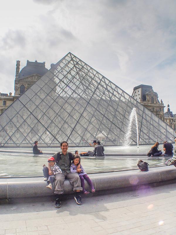 Family City Break in Paris, Louvre Kids