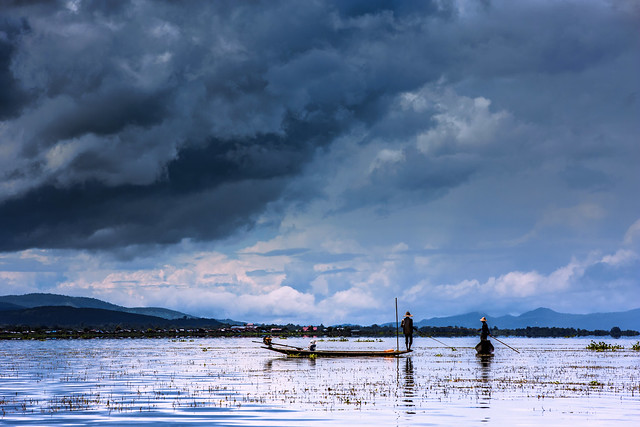 Calm before the storm/le calme avant la tempête