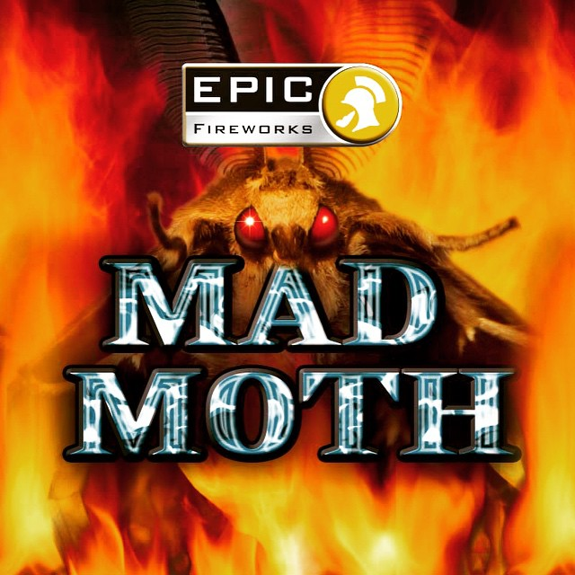 Mad Moth by #EpicFireworks