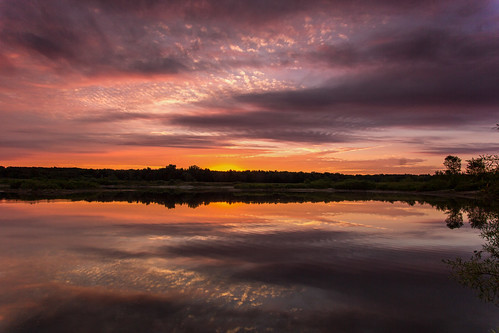 morning sky sun lake reflection clouds sunrise early pond michigan ottawa august morningsky westmichigan 2015 ottawacounty sigma1020 jenison canon60d kevinpovenz