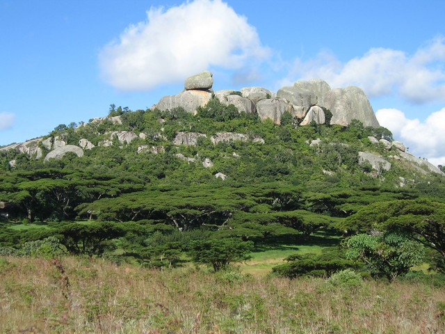 Nyanga rocks