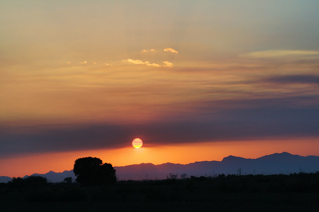 Sunset Over the Gila River Indian Community 1