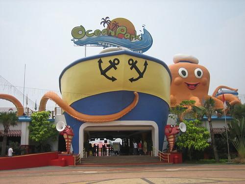 Entrance Gate of Ocean Park BSD, Indonesia | by ida.sudirno