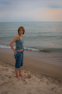Emily at Warren Dunes   by Paladin27