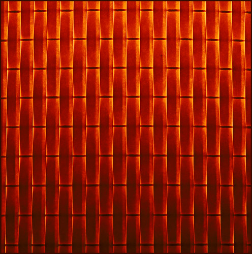 light red orange lamp lines yellow pattern woven 952810