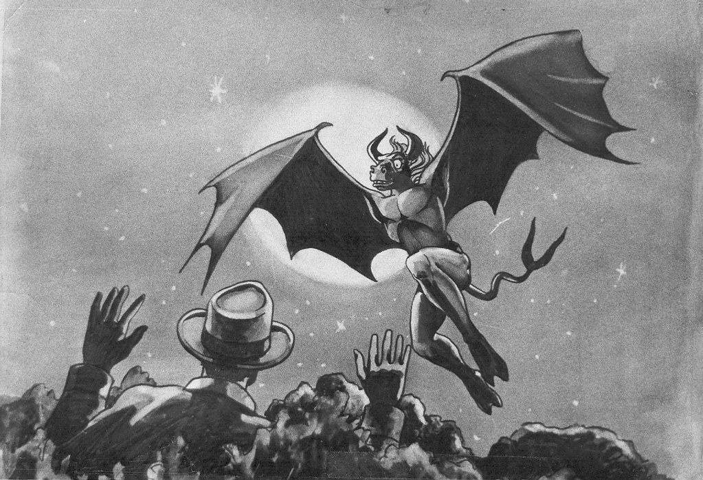 Jersey Devil Flying