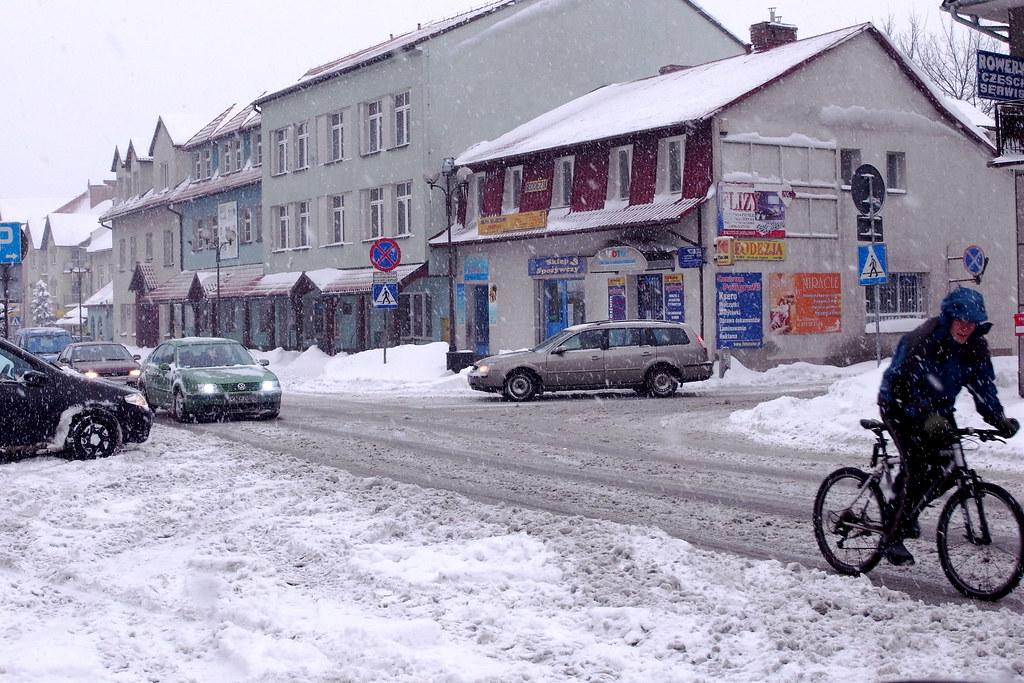 Jazda zimą to sama radość / Driving in winter is pure fun