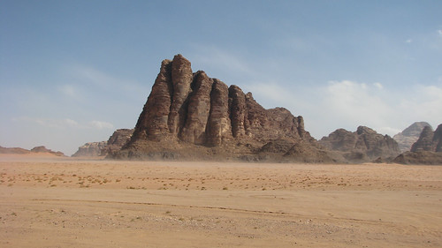 The Seven Pillars of Wisdom, Wadi Rum | by Dale Gillard
