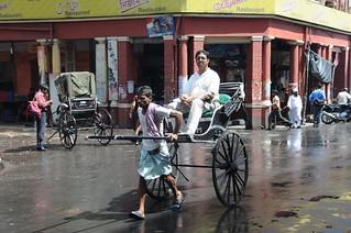 Rickshaw runner | by Nomad Tales