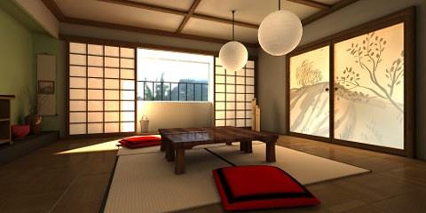 traditional-japanese-livingroom | Comfortable and elegant wi ...