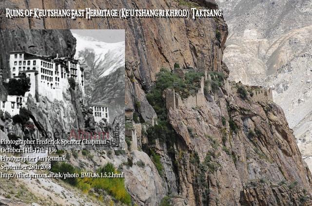 Ruins of K'eu tshang East Hermitage (Ke'u tshang ri khrod)Taktsang