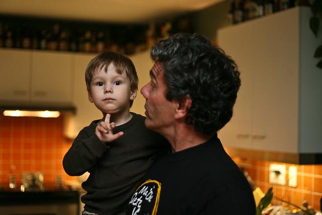 Axel et son éternel doigt d'honneur