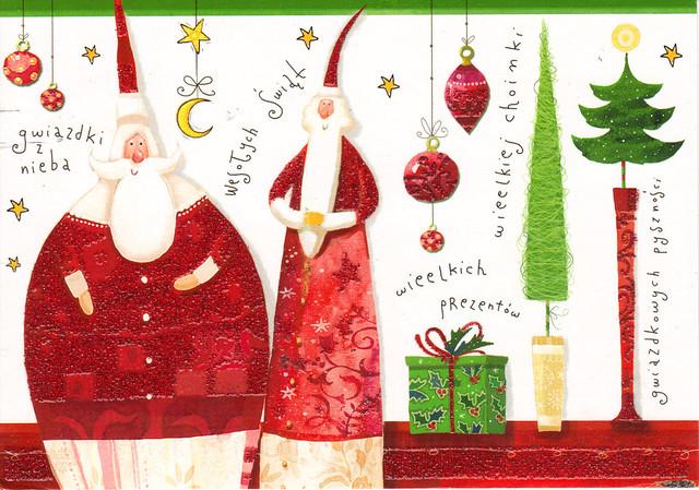 Christmas Santa Postcard