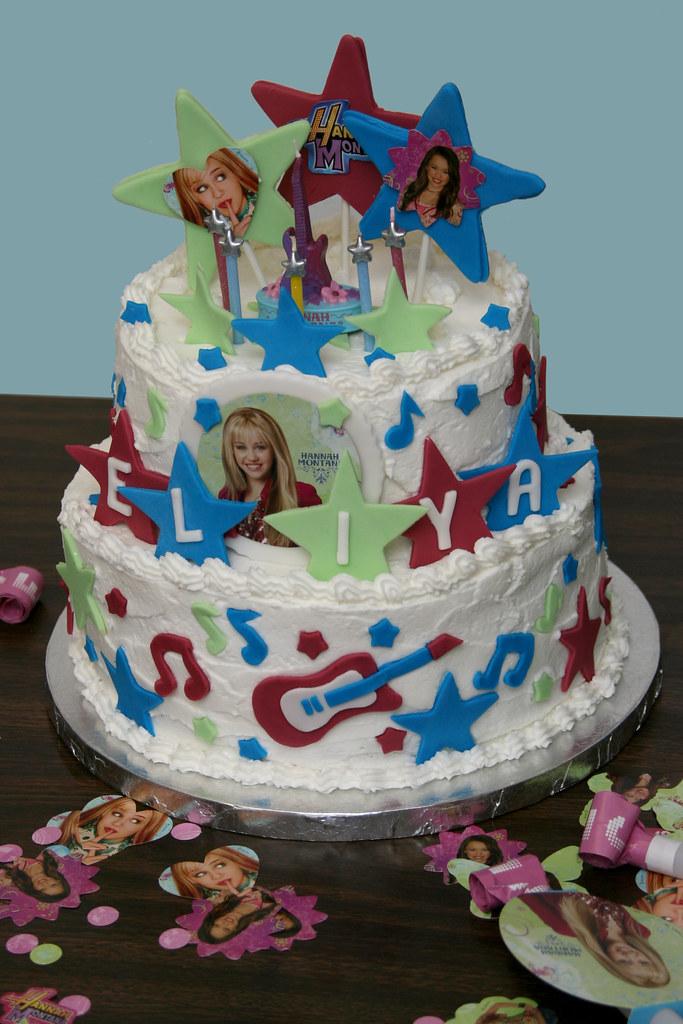 Remarkable Hannah Montana Birthday Cake For Eliyas 5Th Birthday She Flickr Birthday Cards Printable Inklcafe Filternl