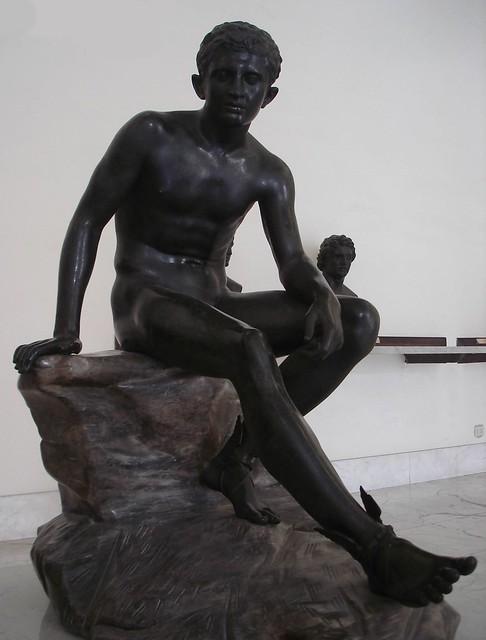 Mercury (seated Hermes) - Naples Museum