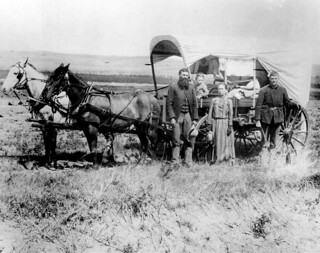 The Covered Wagon of the Great Western Migration | by Marion Doss