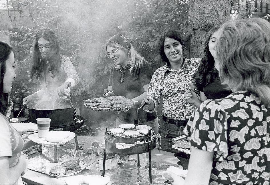 Events (1) - 1970s - Student barbecue