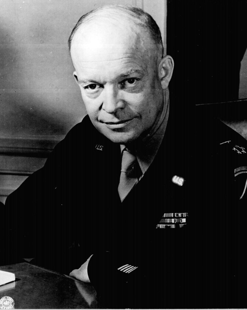 General Dwight D Eisenhower Supreme Allied Commander Flickr