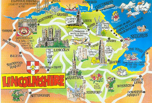 Map Of England Lincolnshire.Lincolnshire England Map Rubycantfail Flickr