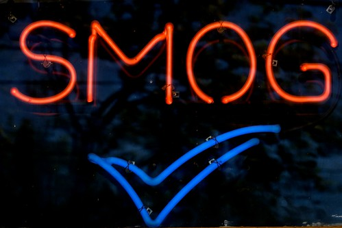 Red Smog Blue Check | by Jeremy Brooks