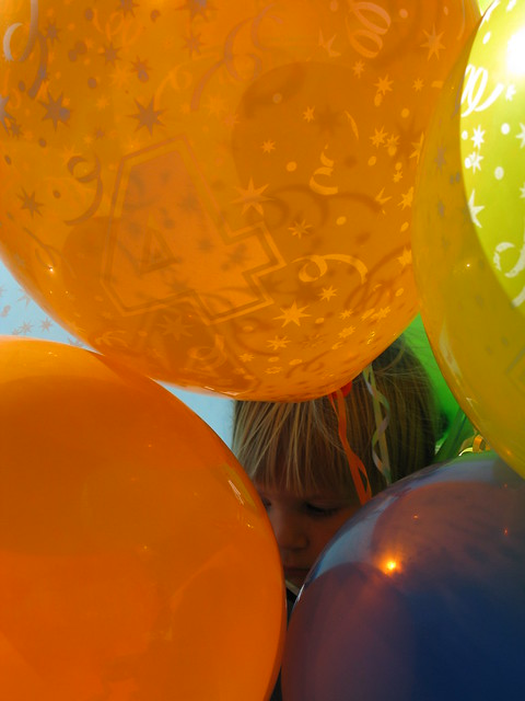 Milo in the Balloons
