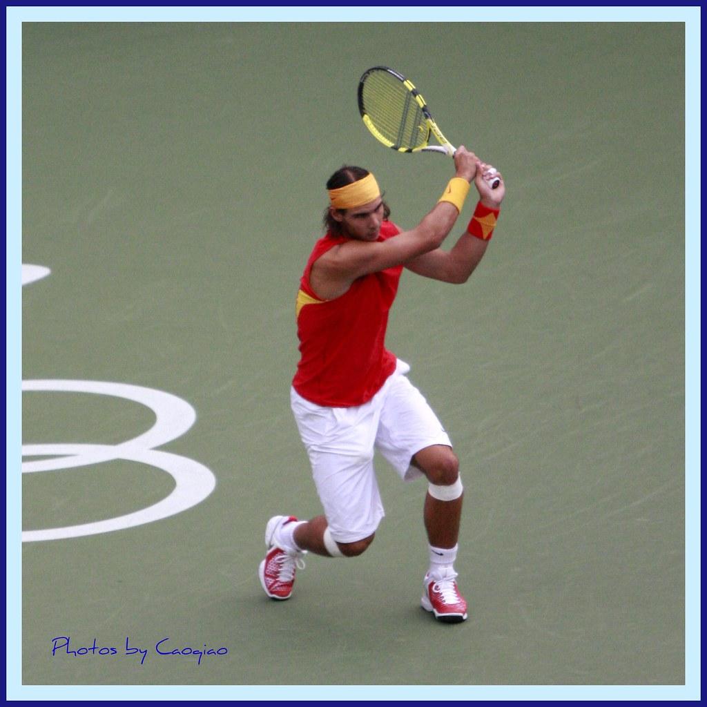 2008北京奥运会网球_纳达尔教你打网球--固若金汤 | 2008年8月17日,北京奥运会男子 ...