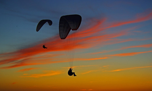 3-2151 Paragliding in Le Havre France  滑翔伞 패러 글라이딩 Yamaç Paraşütü パラグライディング Parapendio | by Rolye