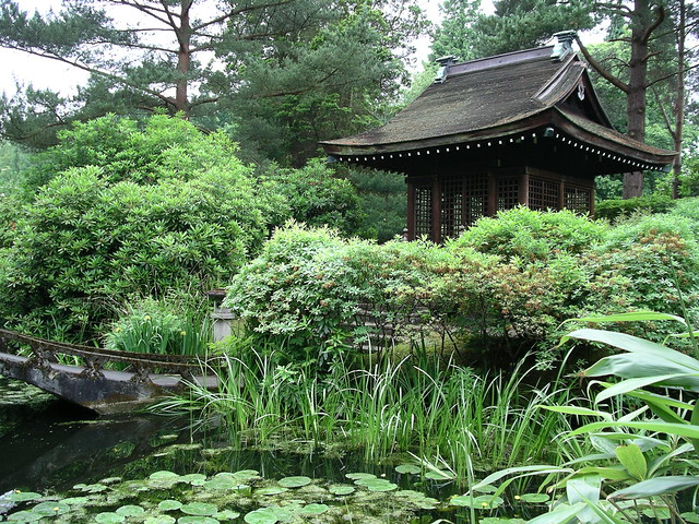Shinto Temple, Japanese Garden, Tatton Park