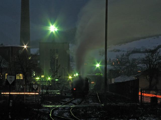 Steelworks night