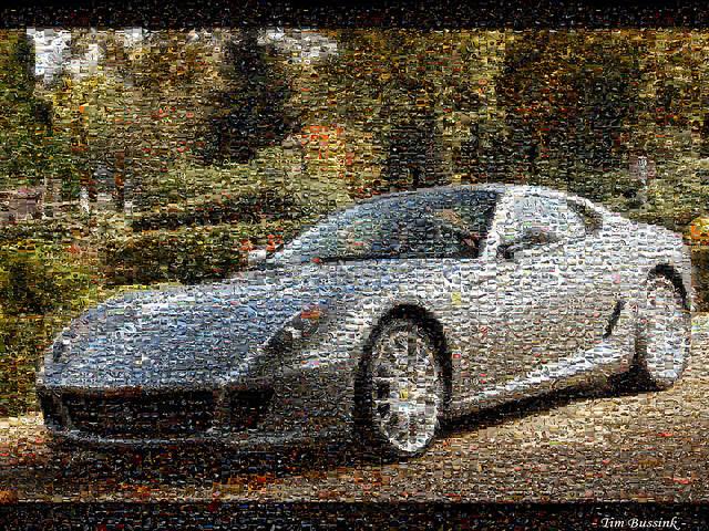 Een mozaiek van honderden van mijn foto's, het debuut van mijn Nikon D40