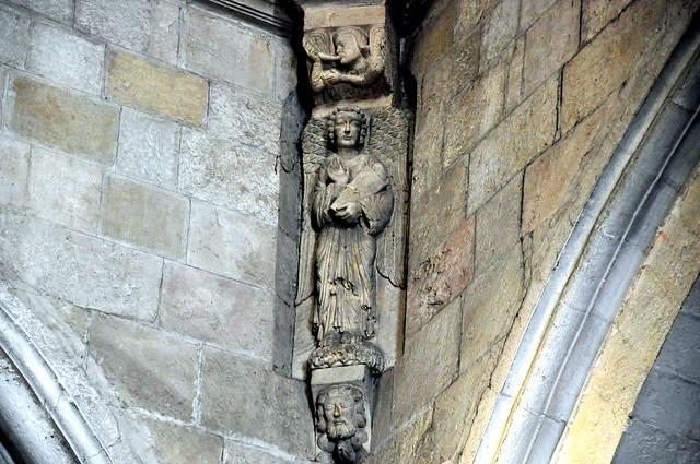 132 - Evangelista - Ménsula - Basílica San Prudencio - Armentia / Vitoria - Gasteiz (Alava) - Spain