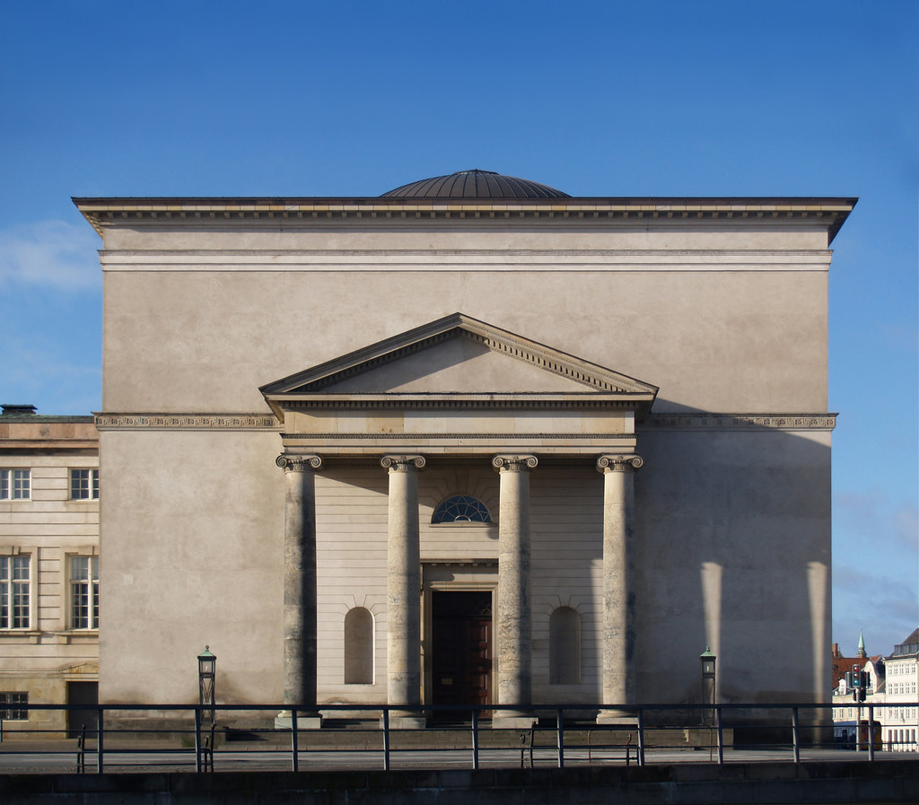 c.f.hansen, christiansborg palace church, copenhagen, 1810-1826