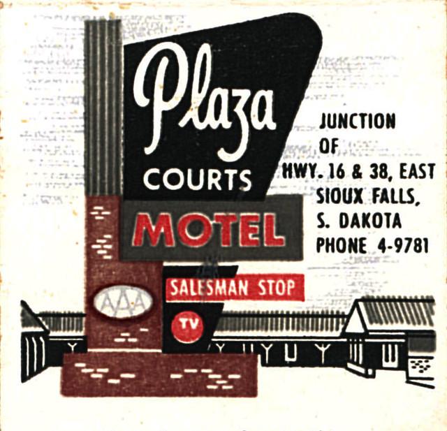Plaza Motel, Sioux Falls