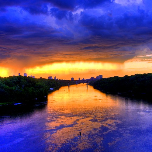 Mississippi Skyline | by Tony Webster