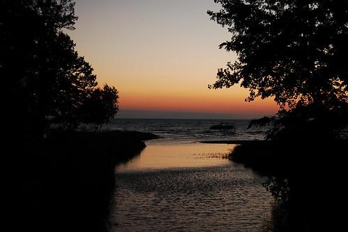 sunset ontario canada beach creek geotagged hillsboro geo:lat=43116523 geo:lon=82088814
