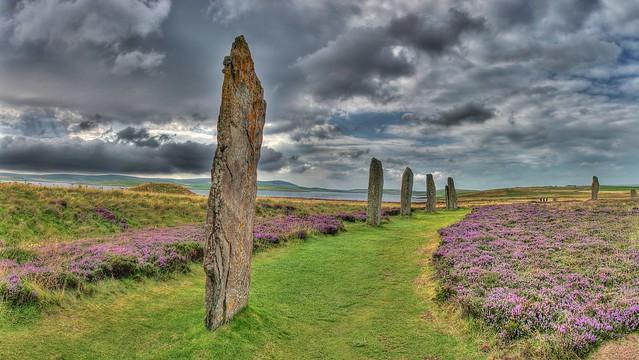 Ring Brodgar Orkney Islands