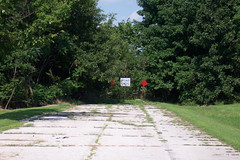 Abandoned National Road and US 40