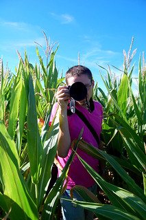 photographer of the corn | by swelldesigner