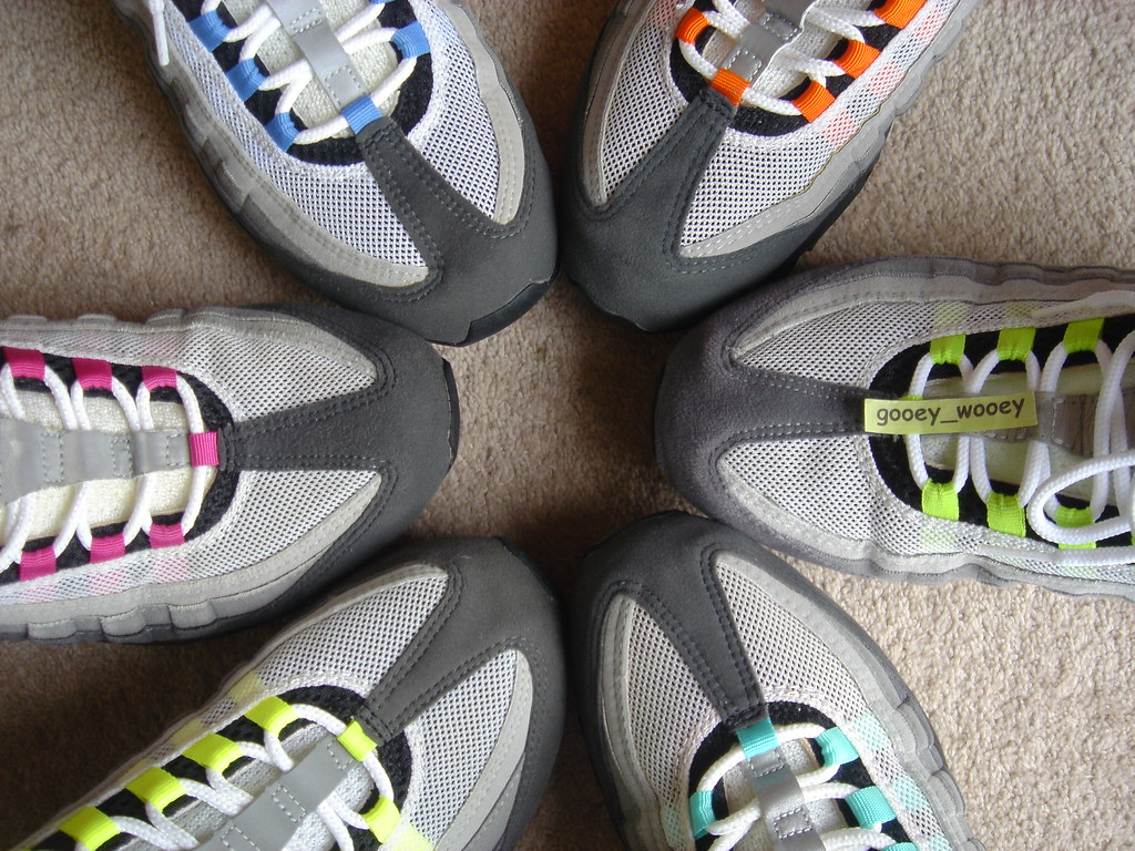 reputable site ba7cc cd95f ... Nike Air Max 95 - My Grey Set - Neon ( 01    03
