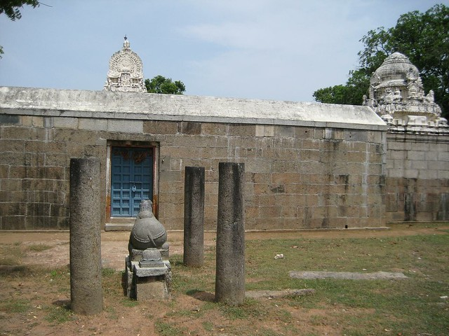 Nandhi outside 2
