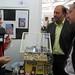 Tue, 18/11/2008 - 12:50 - O director xeral de I+D+i, Salustiano Mato, atende as explicacións dos responsables do proxecto de desalinización de auga mariña para uso doméstico. (Colexio Colexio Alborada. Vigo. Pontevedra). Galiciencia. 18 de novembro de 2008