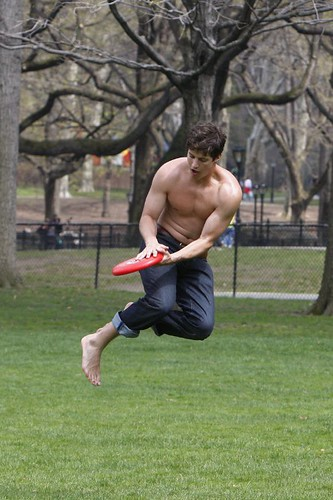 Frisbee in Central Park