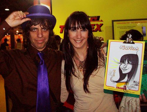 CARICATURISTA / STANDS / www.guerratoon.blogspot.com