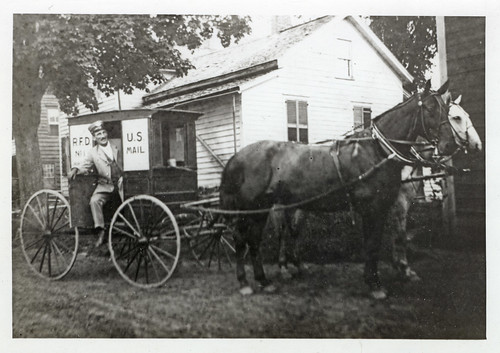 Rural Carrier and Wagon | by Smithsonian Institution