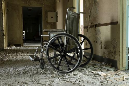 Wheelchair   by Alex Luyckx