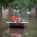 USGS Employees in Boat