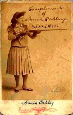 Annie Oakley card | by Numismatic Bibliomania Society