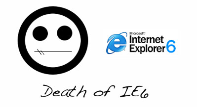 Death of IE6 | by Able Net Design