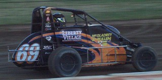 Dodge County Fairgrounds (08.29.08) - Midget Car #69 Aaron Fike | by royal_broil