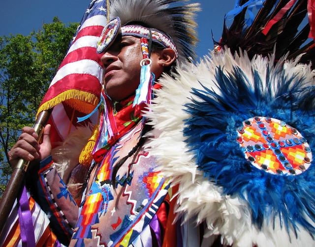 Native American Color Guard | Friendship Pow Wow in Colorado ...